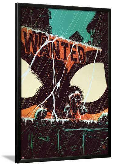 Marvel Adventures Spider-Man No.58 Cover: Spider-Man-Skottie Young-Lamina Framed Poster