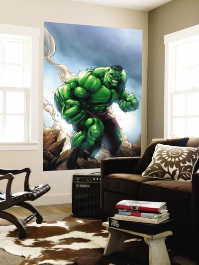 Marvel Age Hulk No.1 Cover: Hulk-Shane Davis-Wall Mural