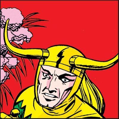 Marvel Comics Loki - Panel Art