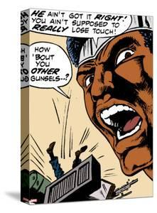 Marvel Comics Retro: Luke Cage, Hero for Hire Comic Panel