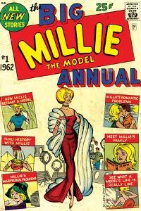 Marvel Comics Retro: Millie the Model Comic Book Cover No.1, the Big Annual