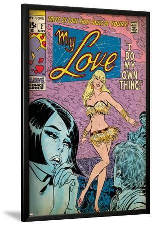 Marvel Comics Retro: My Love Comic Book Cover No.2, Crying and Dancing (aged)