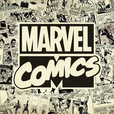 Marvel Comics Retro Pattern Design Featuring Marvel Comics (Retro)--Art Print