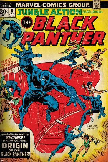 Marvel Comics Retro Style Guide: Black Panther--Art Print