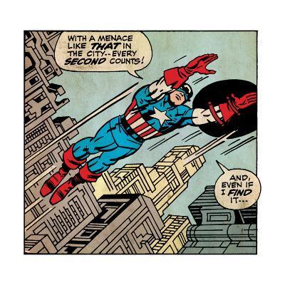 Marvel Comics Retro Style Guide: Captain America--Art Print