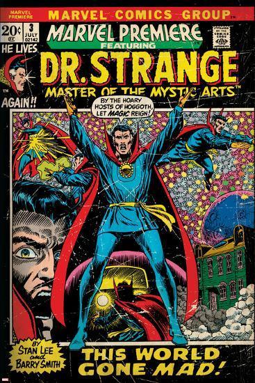 Marvel Comics Retro Style Guide: Dr. Strange--Art Print