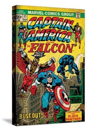 Marvel Comics Retro Style Guide: Falcon, Captain America