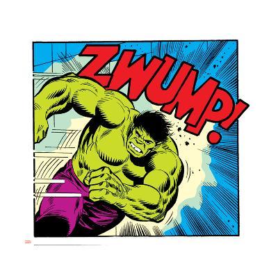 Marvel Comics Retro Style Guide: Hulk--Art Print