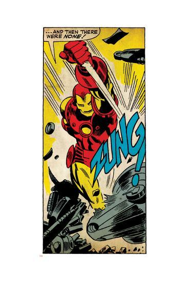 Marvel Comics Retro Style Guide: Iron Man--Art Print