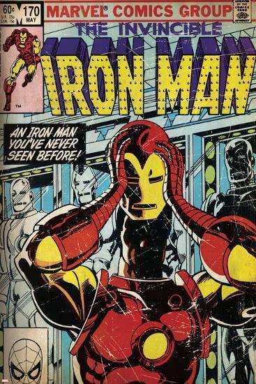 Marvel Comics Retro Style Guide: Iron Man--Art Print