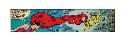 Marvel Comics Retro Style Guide: Medusa--Art Print