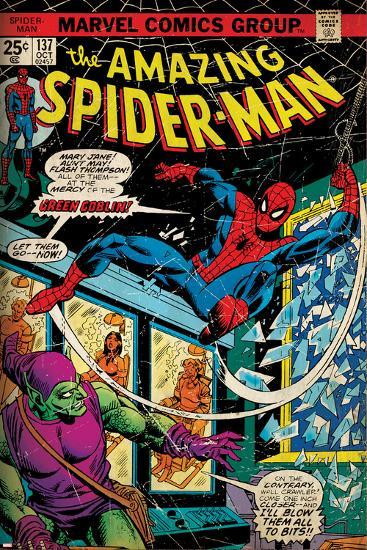 Marvel Comics Retro Style Guide: Spider-Man, Green Goblin--Art Print