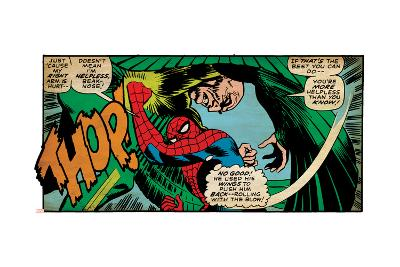 Marvel Comics Retro Style Guide: Spider-Man, Vulture--Art Print