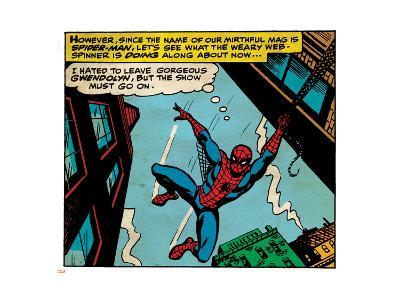 Marvel Comics Retro Style Guide: Spider-Man--Art Print