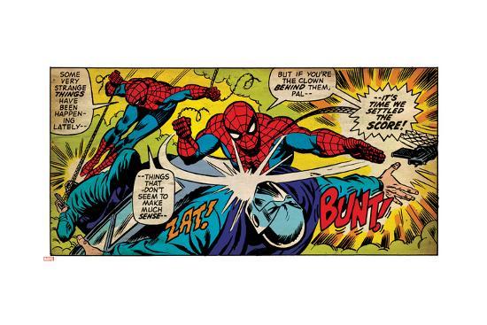Marvel Comics Retro Style Guide: Spider-Man--Art Print