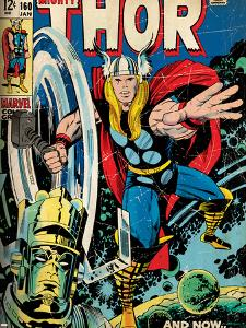 Marvel Comics Retro Style Guide: Thor, Galactus