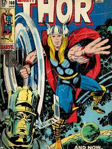 Marvel Comics Retro Style Guide: Thor, Galactus