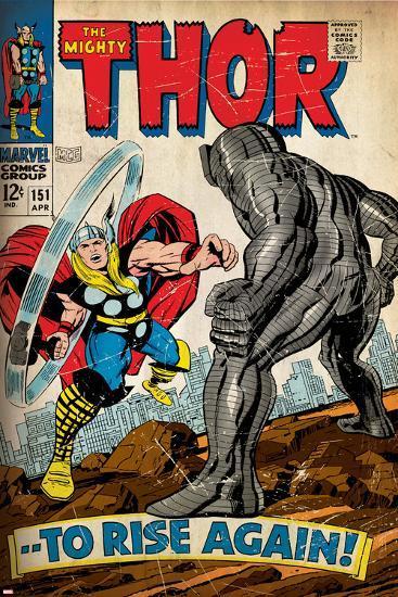 Marvel Comics Retro Style Guide: Thor--Art Print