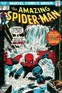 Marvel Comics Retro: The Amazing Spider-Man Comic Book Cover No.151, Flooding