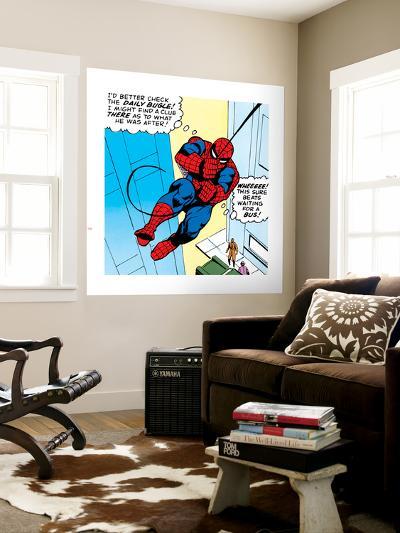 Marvel Comics Retro: The Amazing Spider-Man Comic Panel--Wall Mural