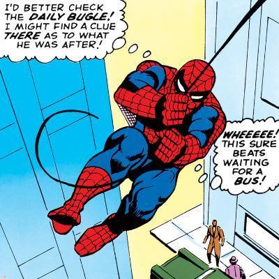 Marvel Comics Retro: The Amazing Spider-Man Comic Panel--Art Print
