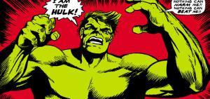 Marvel Comics Retro: The Incredible Hulk Comic Panel