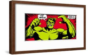 Marvel Comics Retro: The Incredible Hulk Comic Panel