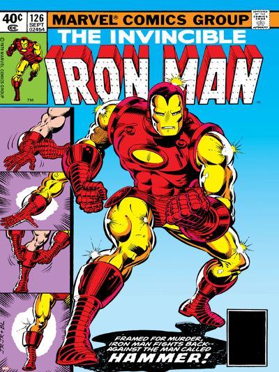 Marvel Comics Retro: The Invincible Iron Man Comic Book Cover No.126, Suiting Up for Battle--Art Print