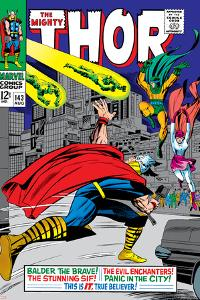 Marvel Comics Retro: The Mighty Thor Comic Book Cover No.143, Sif