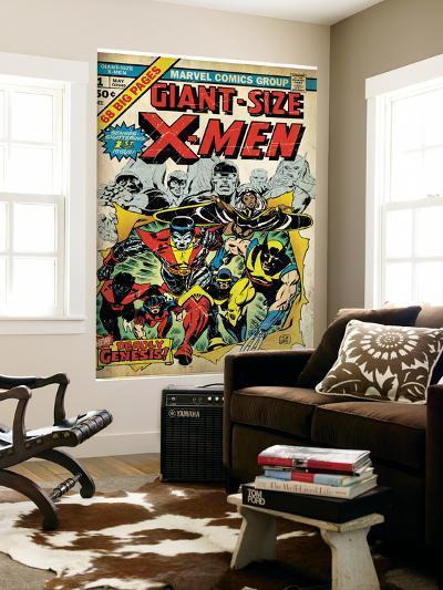 Marvel Comics Retro: The X-Men Comic Book Cover No.1 (aged)--Wall Mural