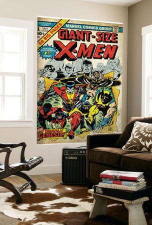 Marvel Comics Retro: The X-Men Comic Book Cover No.1 (aged)