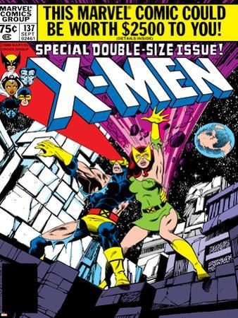 Marvel Comics Retro: The X-Men Comic Book Cover No.137, Phoenix, Colossus