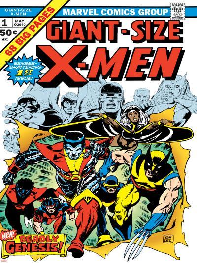 Marvel Comics Retro: The X-Men Comic Book Cover No.1--Art Print