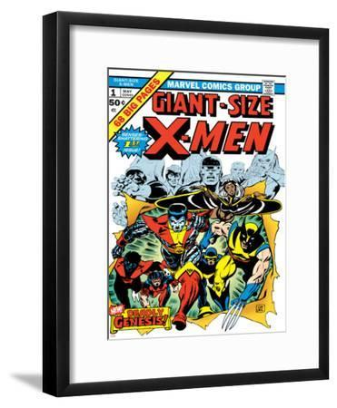 Marvel Comics Retro: The X-Men Comic Book Cover No.1
