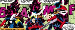 Marvel Comics Retro: X-Men Comic Panel, Nightcrawler
