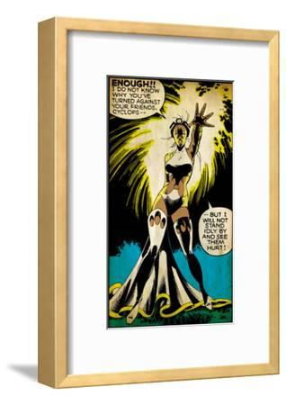 Marvel Comics Retro: X-Men Comic Panel, Storm (aged)