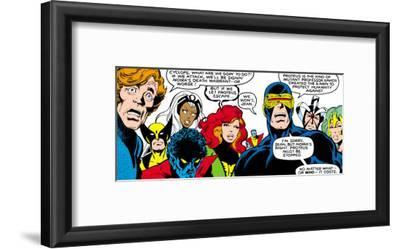 Marvel Comics Retro: X-Men Comic Panel