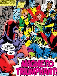 Marvel Comics Retro: X-Men Comic Panel