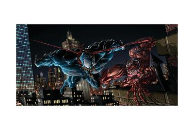 Marvel Extreme Style Guide: Carnage, Venom--Art Print