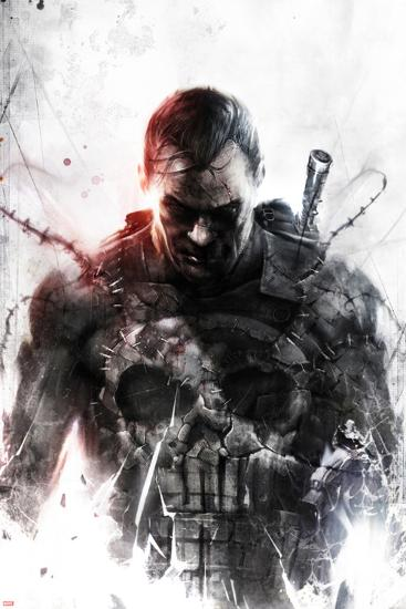 Marvel Extreme Style Guide: Punisher--Art Print