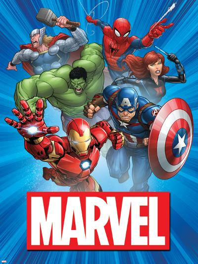 Marvel Group Image--Art Print