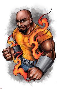 Marvel Knights - Luke Cage Character Art