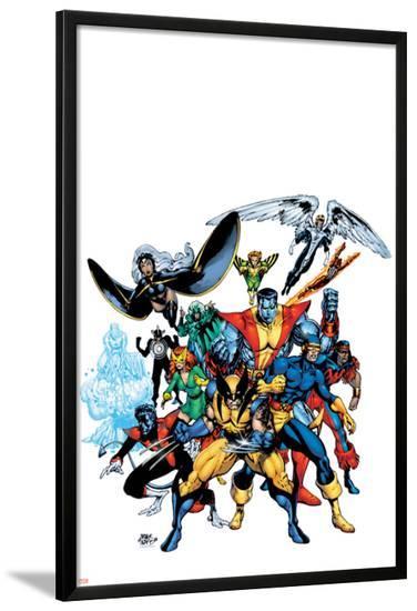 Marvel Legends: Arthur Adams TPB Cover: Wolverine-Arthur Adams-Lamina Framed Poster