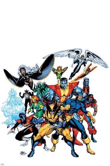 Marvel Legends: Arthur Adams TPB Cover: Wolverine-Arthur Adams-Art Print