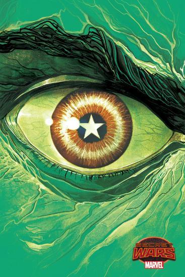 Marvel Secret Wars Cover, Featuring: Hulk--Art Print