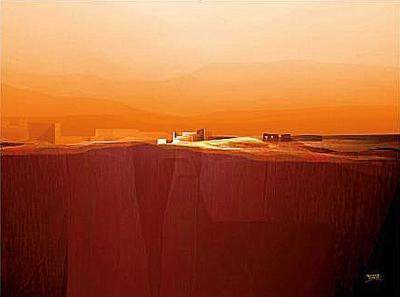 Marvellous Landscape IV-Fernando Hocevar-Art Print