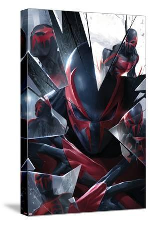 Marvels Spider-Man Panel Featuring Spider-Man 2099