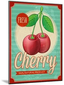 Vintage Styled Cherry by Marvid