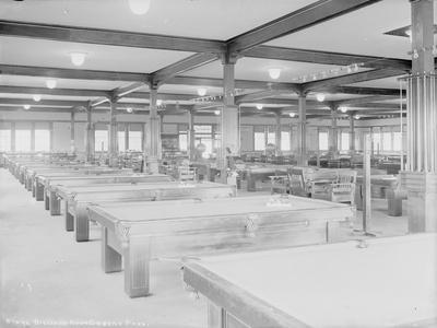 Billiard Room, Green Park, Circa 1918