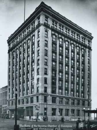 Chamber of Commerce Building, Tacoma, WA, Circa 1920s